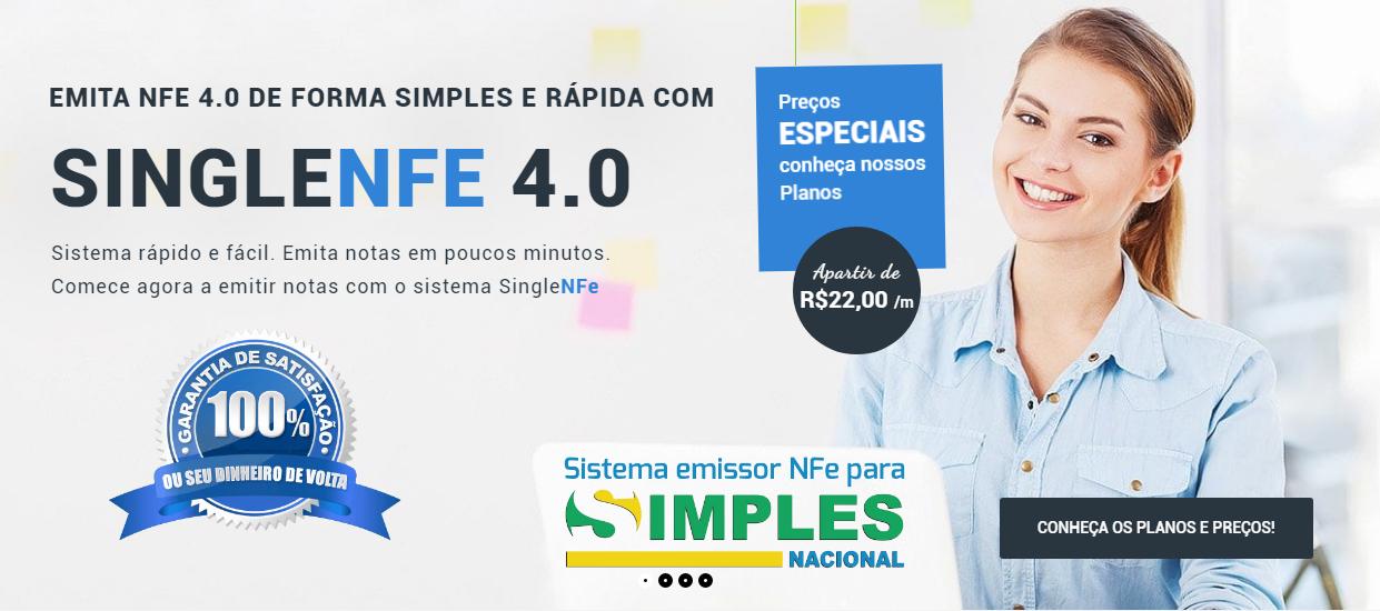 Emissor NFe para Simples Nacional